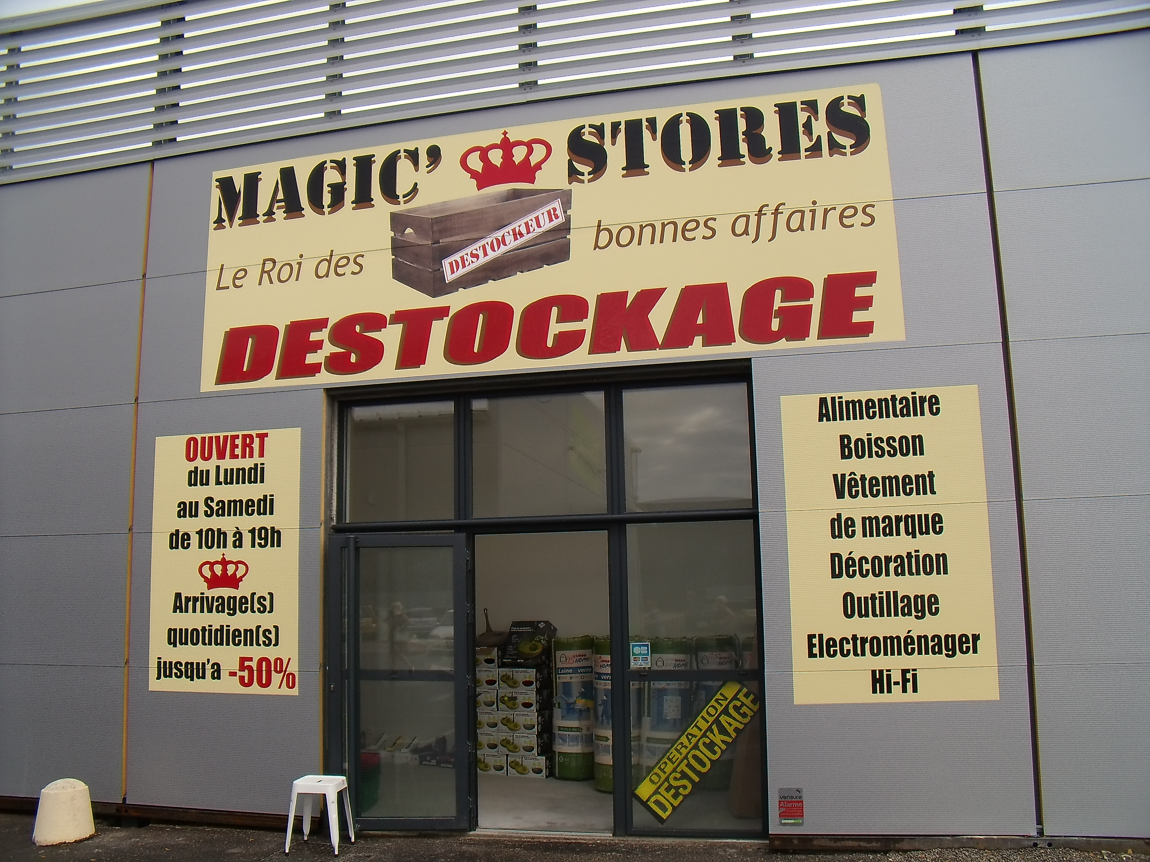 MAGIC STORE DESTOCKAGE
